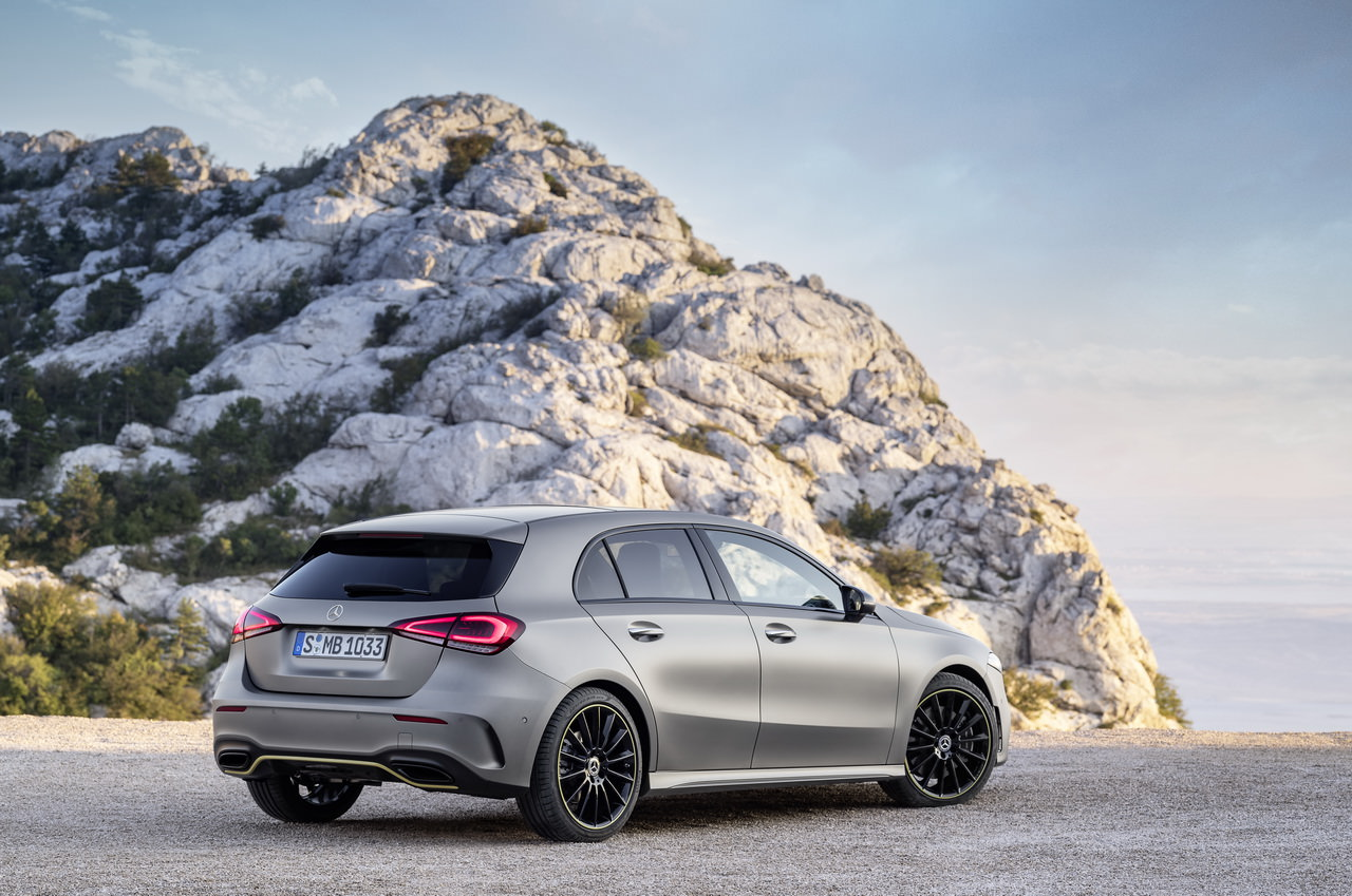 Decouvrez La Nouvelle Classe A Mercedes Etoile Mont Blanc